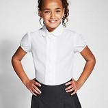 Школьные блузки белые, Marks&Spencer, на 6-7 и 9-10 лет.