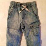 Стильные шорты H&M на 6-7-8 лет. Англия. Легкий джинс.