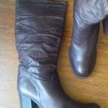 рр 41-28 см новые стильные сапоги от Bata кожа