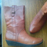 рр 39-26,5 см новые cтильные сапоги кожаные от VAGABOND