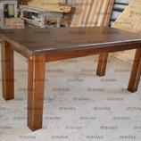 Стол деревянный из массива дерева .