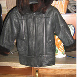 Куртка кожанная натуральная на меху