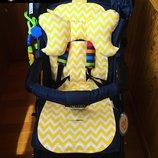 Летний вкладыш в прогулочную коляску Simple Подушка Pillow 4 цвета