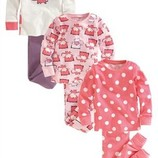 Пижамки Некст 3-4 и 4-5 лет поштучно или комплектом.