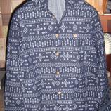Рубашка H&M c длинным рукавом