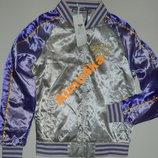 куртка бомбер клубная WARREN WEBBER рS-M оригинал Италия