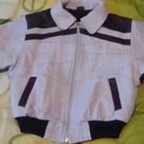 Кожаная куртка р-р116.Германия