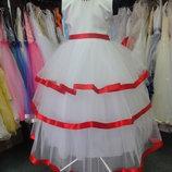 детское платье нарядное в наличии
