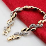 Шикарный Ювелирный Набор Золотая цепь ,модель Elegant