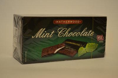 Шоколад с мятной начинкой 200 г Германия Бесплатная доставка по Киеву