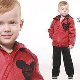 Ветровка-Дождевик для мальчиков и девочек унисекс со светоотражающим ефектом 98-128