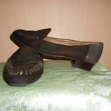 туфли, лоферы, мокасины, 39,40 размер, Австрия, замша кожа