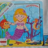 Деревянная игрушка Пазлы большие Сказки