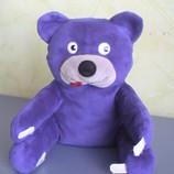 Мягкая игрушка Мишка с липучками,20см