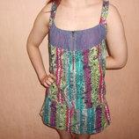 сарафан летний ,100% тонкий хлопок, для беременных, 44,46 размер,мода, Испания