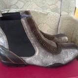 Шкіряні черевики Tom Tailоr