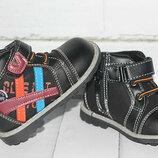 Демисезонные ботинки для мальчиков р 22 - 23. новые. в наличии
