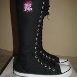 Нові фірмові стильні Кеди-чобітки Cover Оригінал р.39 стелька 25 см