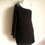 Новое вечернее шифоновое платье бренда EVEN&ODD