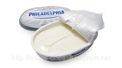 Сливочный сыр Филадельфия 125 грамм Бесплатная доставка по Киеву