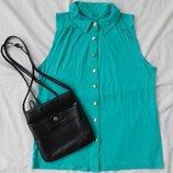 Яркая блузка р-р S, блуза футболка майка рубашка тениска