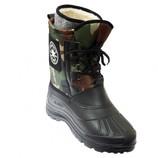 Ботинки зимние с меховой вставкой валенок Аляска непромокаемые