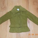 Акция Стильное демисезонное пальто Next для девочки 5-6 лет, 110-116 см