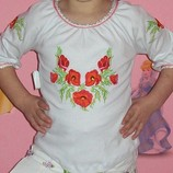 Нарядная блуза-вышиванка