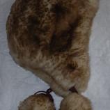 Шапка-Шлем из овчины