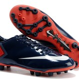 Бутсы Nike Mercurial Vapor X AG/MG - Midnight Blue Indian Red White