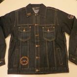 куртка джинсовая подростковая от 10-16 лет