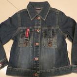 куртка джинсовая для девочки от 8-12 лет