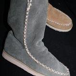 42 разм. Угги Zalando Shoes, стелька 27-27, 5 см. Замша натуральная