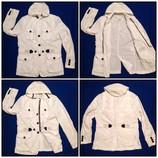 КАЧЕСТВО М - L Ветровка куртка жакет пиджак плащевка белая супер легкая