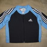 Курточка фірмова спортивна Adidas Оригінал на ріст 62 см на вік 6 міс.