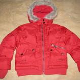 Курточка зимова дуже тепла Banana на ріст дитини 122-128 см