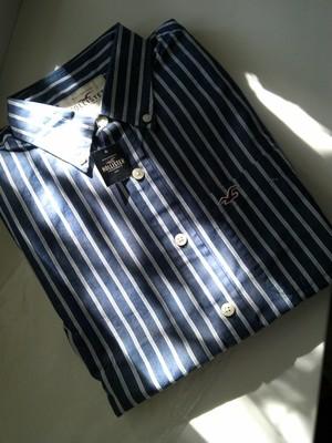 Американская стильная рубашка Hollister .