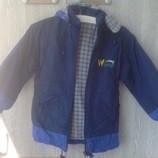 Куртка детская зима 128р.