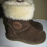 Чоботи шкіряні Clarks First Shoes® Оригінал Вєтнам р.4.5 F стелька 13.5 см