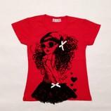 Туника 2-3 года. Новая. Гламурная футболка для девочки.