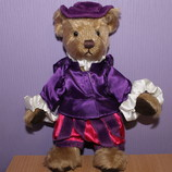 Коллекционный мишка Past Times Russ UK Benedick English Tudor Bear