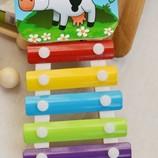 Ксилофон деревянный музыкальные инструменты деткам