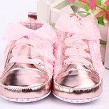 Пинетки-Кросовочки малышкам - первая обувка