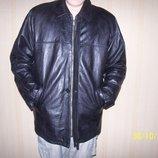 куртка кожаная фирма франции REDSKINS