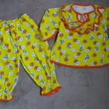 Новые теплые пижамы для девочек в наличии
