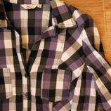 Бронь Стильная модная рубашка в клетку XL- XXL размер
