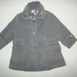 Красивое пальто на осень девочке 9-12 мес