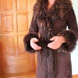 Меховое пальто-дубленка Stella Rossa