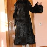 Італійське пальто з поні Carnelli