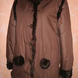 Осень-Зима завоз M- L куртка Shelenberg зима мех кролика